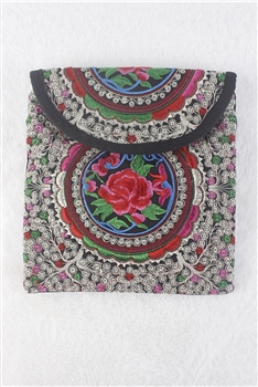 Embroidery Ethnic Travel Shoulder HANDBAGs HB0542