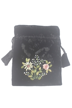Decorated With Flowers CLUTCH Bag HB0590