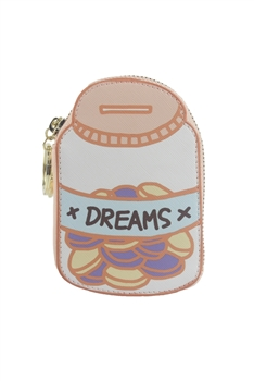 NEW Style Cute Pink Sugar Bowl Money Holders HB0599